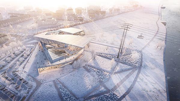 Unstudio ontwerpt kabelbaan tussen china en rusland
