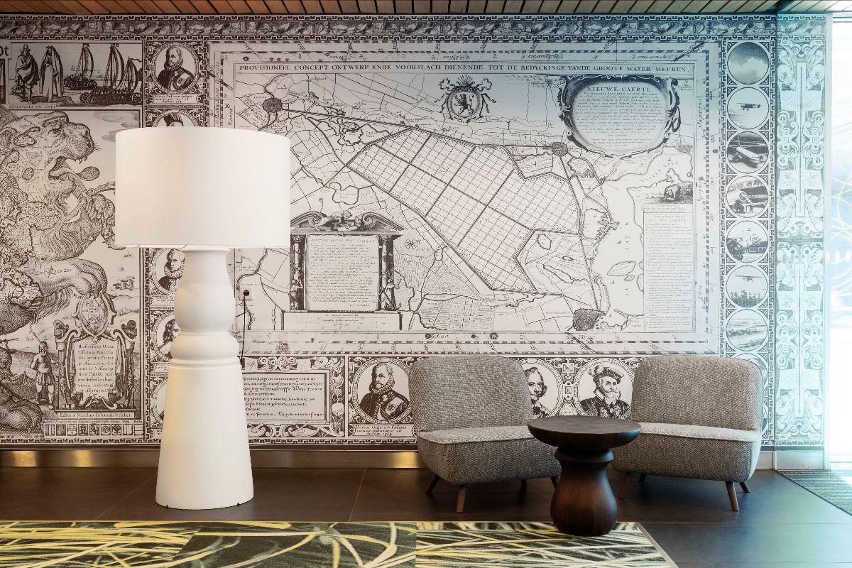 Marcel Wanders knipoogt naar Hollands erfgoed met VIP-room Schiphol