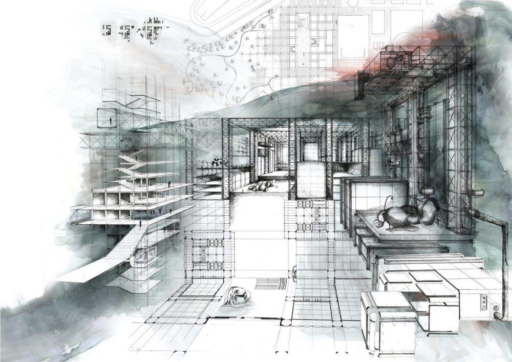 """Carlijn Kingma: """"Mijn architectuur is een getekende taal"""""""