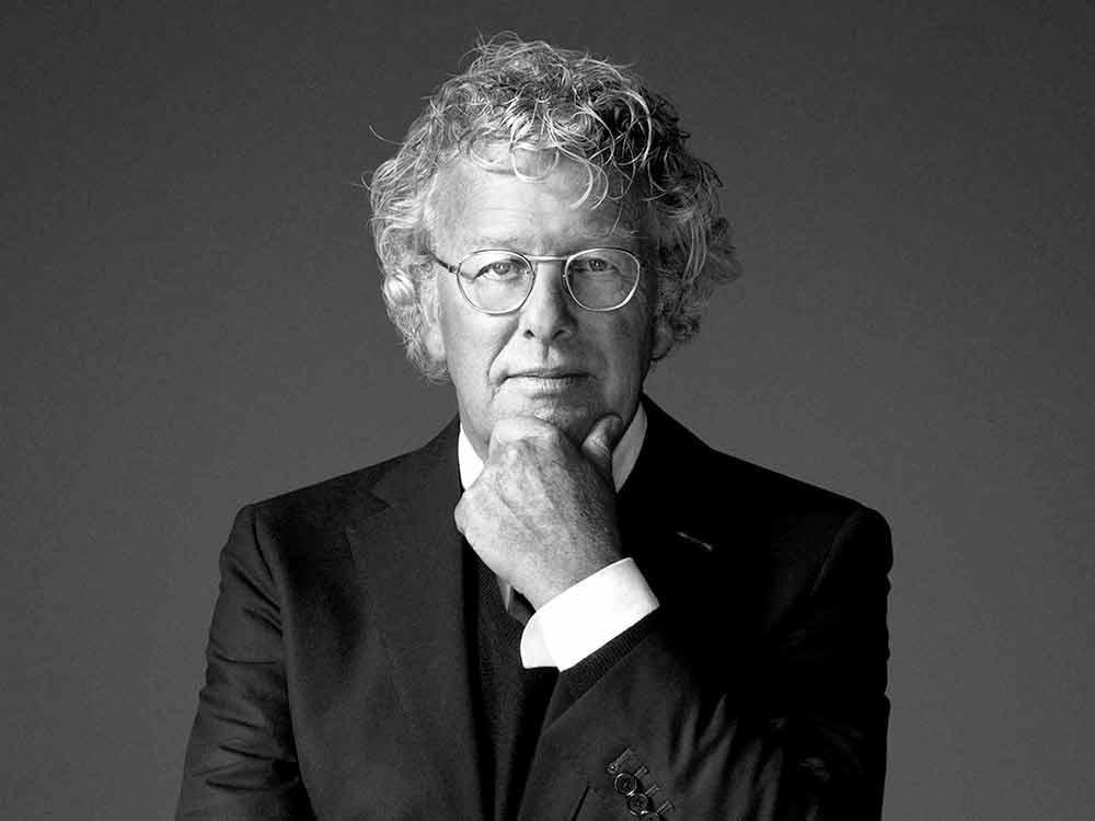 Jan des Bouvrie (1942-2020) – modernist 'light' met liefde voor wit, geometrie en glamour
