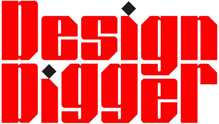 Nieuwe huisstijl DesignDigger door Studio Laucke Siebein