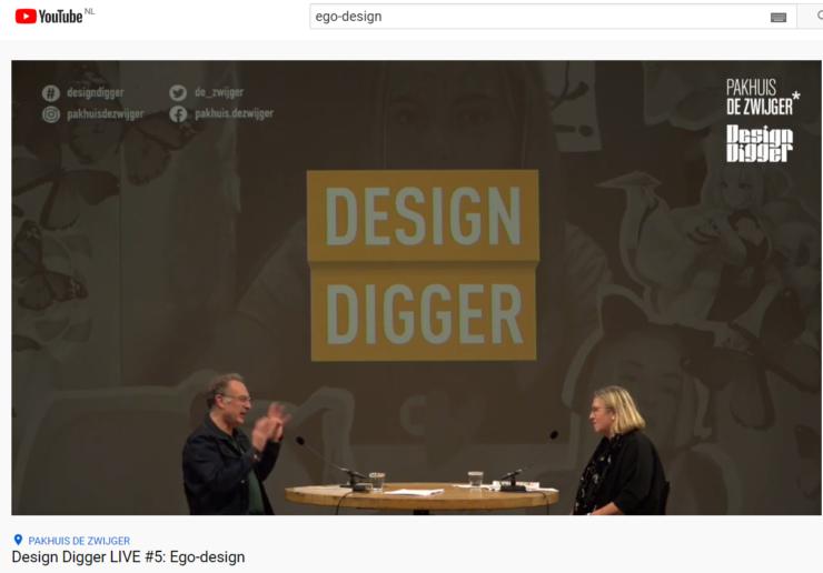NU ONLINE: 'Design Digger Live #5 – Ego-design'. Over doe-het-zelf ontwerp van onze identiteit en emoties