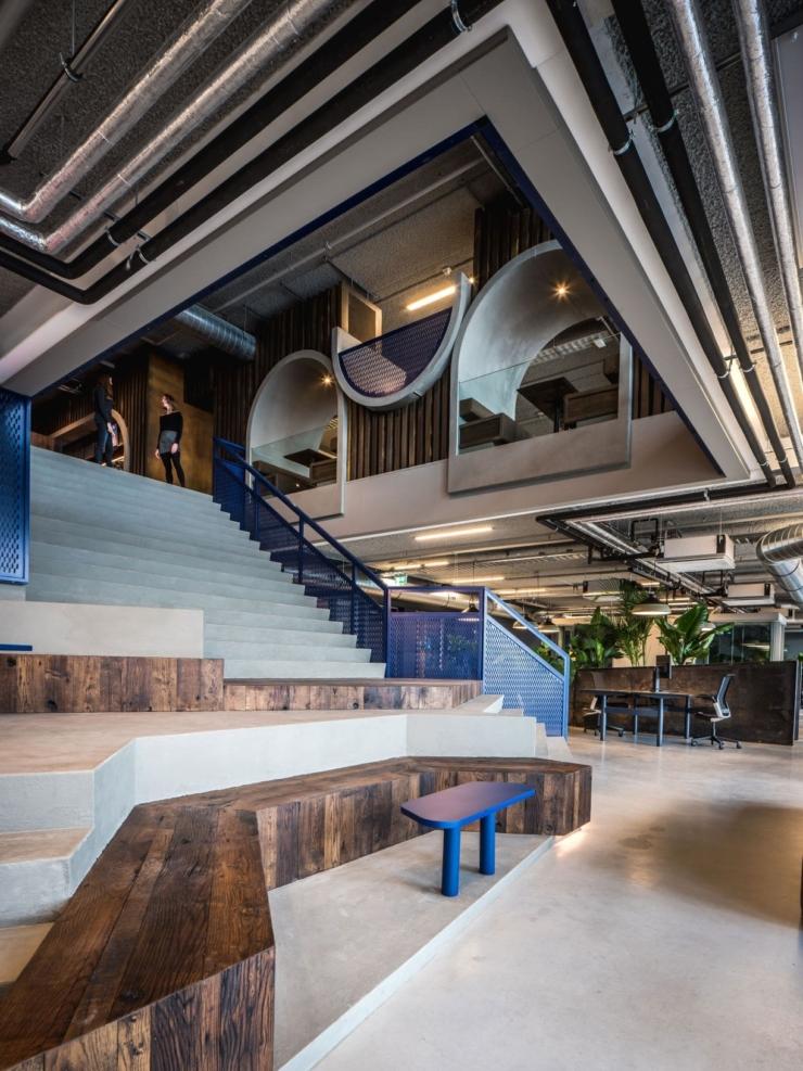 Red Bull heeft de primeur van het nieuwe kantoorconcept 'habitoor' van Casper Schwarz