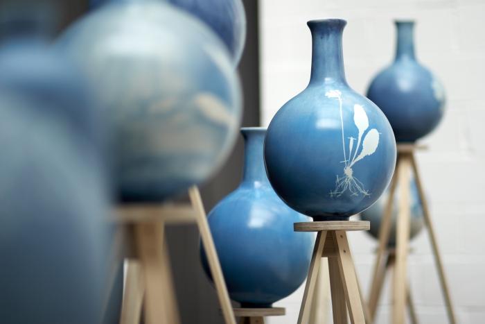 3D-geprinte tulpenvazen en vier andere remakes van klassieke Delfts Blauw