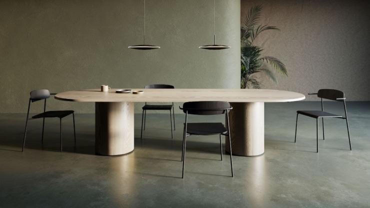 Designlabels Arco en Occony bundelen expertise in duurzame tafelcollectie 'Kami'