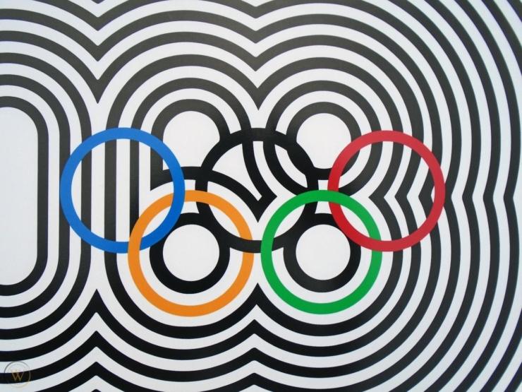 ICONISCH LOGO #3 Olympische Spelen 1968: traditionele folklore met psychedelisch elan
