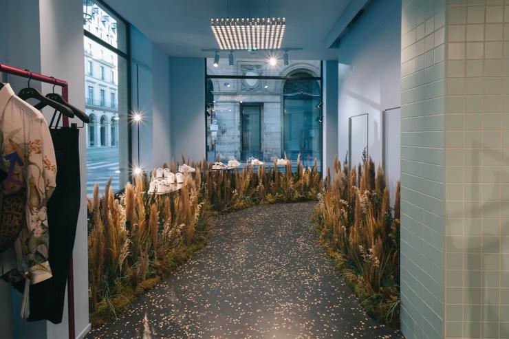 Architectuur-denktank AMO van Rem Koolhaas ontwerpt Parijse brandstore van modelabel Off-White