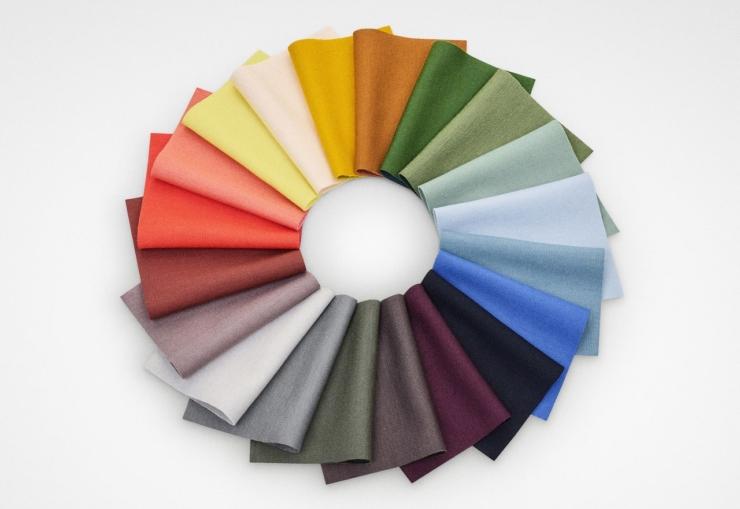 Raw Color presenteert nieuwe kleurcollectie voor Kvadrat met kunstzinnige installaties