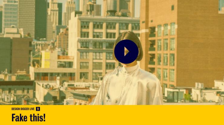 DesignDigger LIVE #9 is nu online. 'Fake this!' – design tussen digitaal en analoog