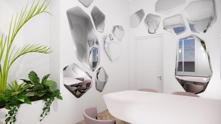 Interieurarchitect Casper Schwarz ontwerpt 'happy place' voor design startup OCCO
